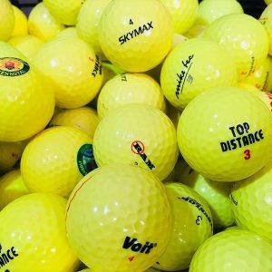 Golf žogice barvne mix (25kom)