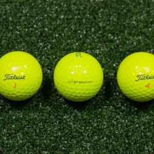 Titleist MIX YELLOW (3 kom)
