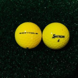 Srixon SOFT FEEL YELLOW (3 kom)