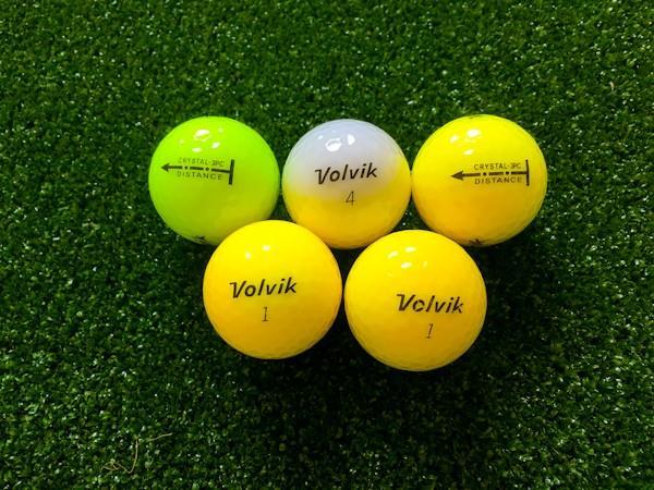 Volvik CRYSTAL 3PC - distance