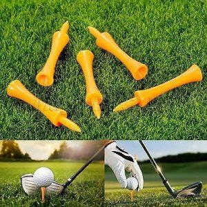 GOLF TEE 70 mm ORANŽEN 25 KOM