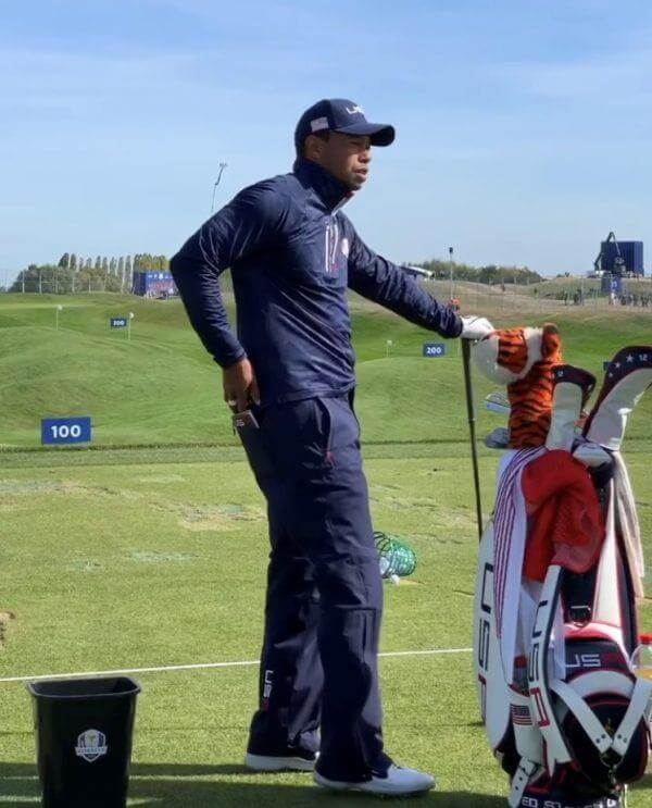 Tiger pokrivalo za Driver in Fairway les